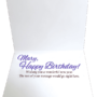 Example of text inside greeting card